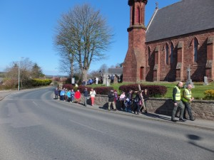 Leaving St Congan's on Devron Road (1024x768)
